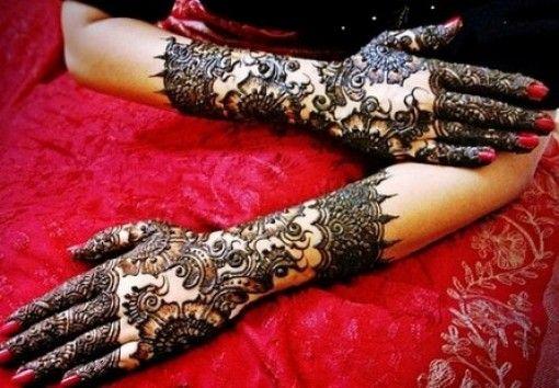 Popularity Of Arabic Mehndi Designs