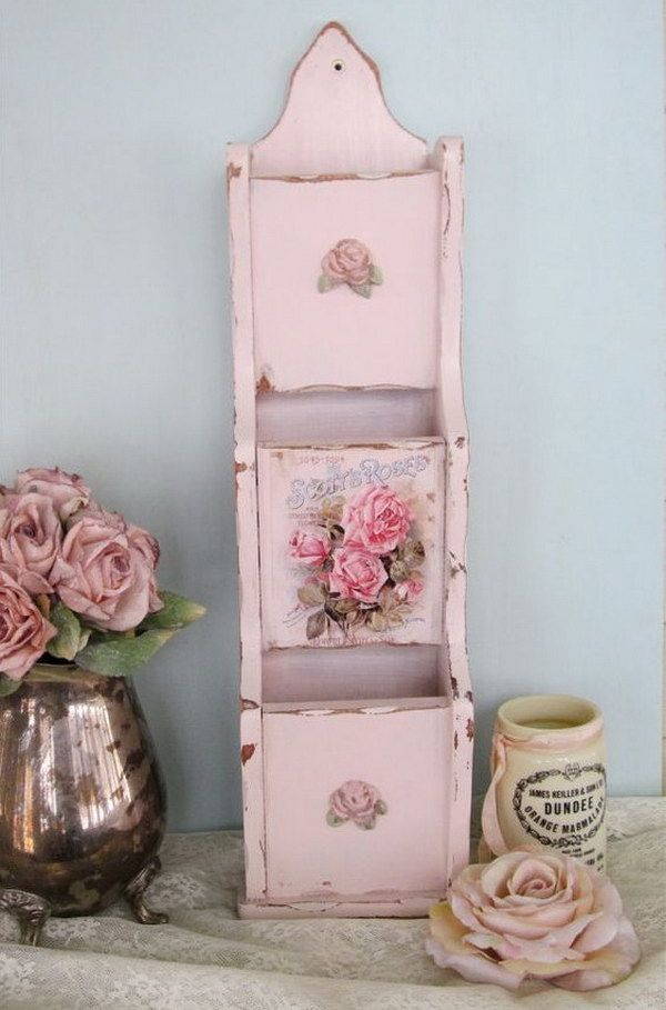 40+ Shabby Chic Decor Ideas and DIY Tutorials – Pink Shabby Chic Couture