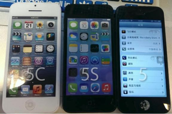 iPhone 5S vs. iPhone 5 vs. iPhone 5C Photos Show Apple's New Lineup