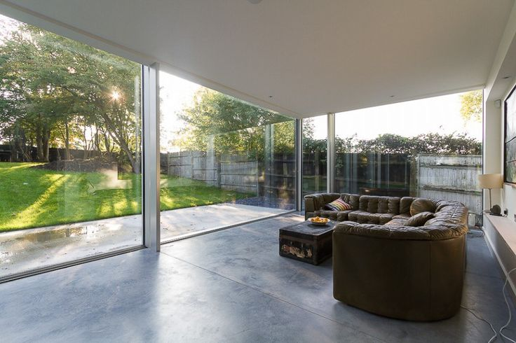 Brockwell Park House London Grand Designs Interior Of Modern Glass Extension