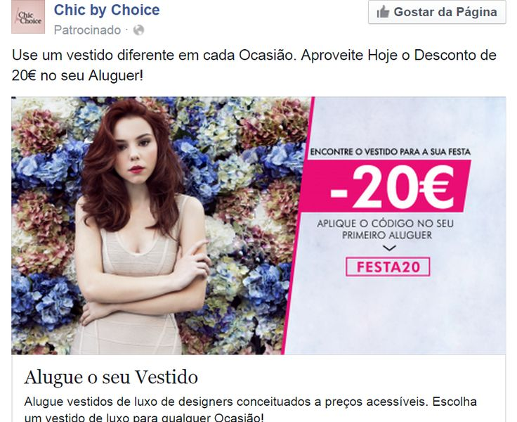 Filipa Areosa in Chic By Choice Website