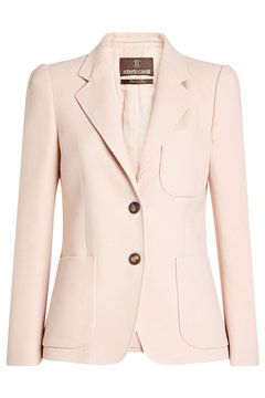 Cotton Blazer with Silk | Roberto Cavalli