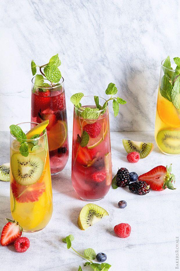 Fruit Mojitos   Bakers Royale