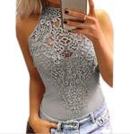 awesome Jc.Kube Dame Sexy Bodysuit Spitze Bodys Tops Rompers Jumpsuit