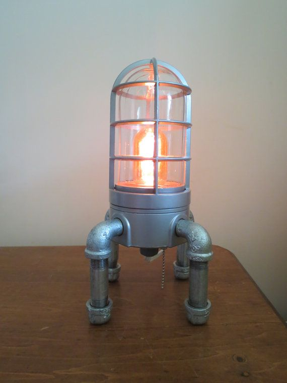 Industrial Desk Lamp Loft Lamp Steampunk Lamp Lamps