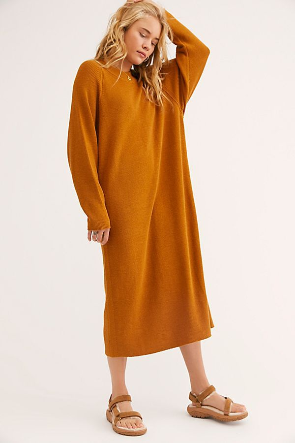 24+ Free People Sweater Dress Orange Background