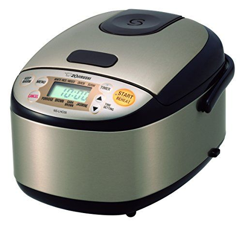 Zojirushi NSLHC05XT Micom Rice Cooker  Warmer Stainless Dark Brown ** Be sure to check out this awesome product.