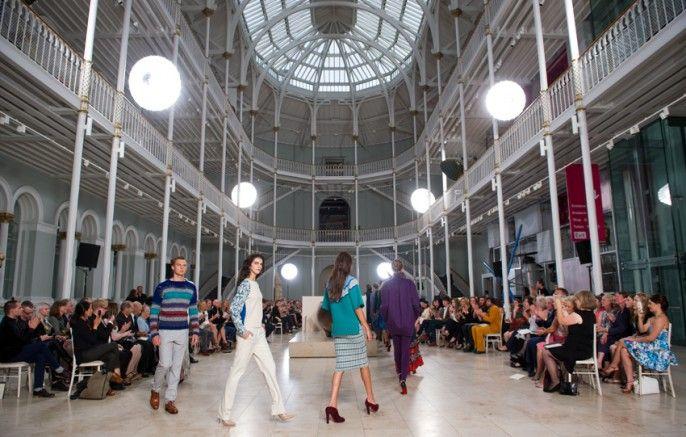 #EIFF #graemeblack#DiGilpin #Knitwear #Scottish #Edinburgh #Fashion #Cable