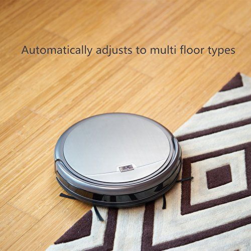 Hardwood Floor Vacuum Reviews hoover floormate edge hard floor cleaner Ilife A4s Robot Vacuum Cleaner Smart Automatic Self Charge Remote Control Hepa Filter For