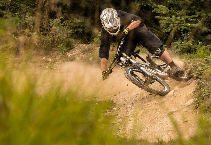 Downhill ride on professional tracks - Medium - You decide how difficult is should be while mountain biking.