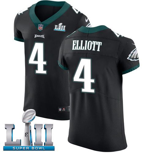 Nike Eagles  4 Jake Elliott Black Alternate Super Bowl LII Men s Stitched  NFL Vapor Untouchable Elite Jersey 82f6a252b