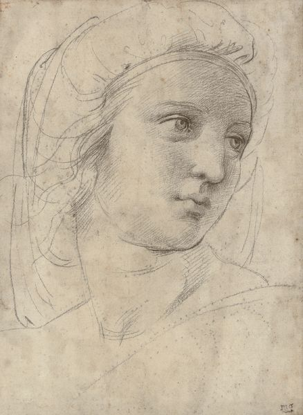 Rafaello, Head of a muse, c.1490, private collection