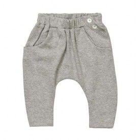 Baobab Baby Harem Pant Grey