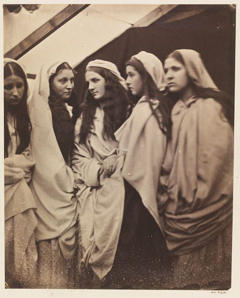 The five foolish Virgins by Julia Margaret Cameron, England, 1864 l Victoria and Albert Museum #Photography
