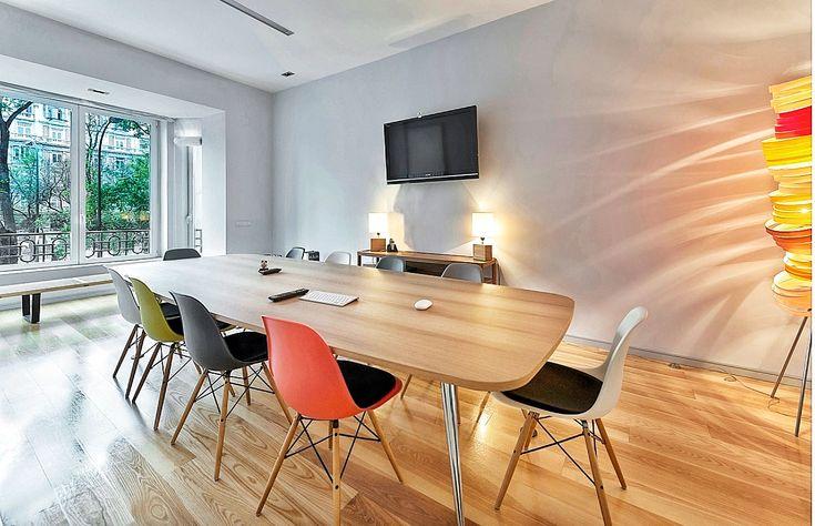 Sala de reuniones #CódigoVisual #decoración