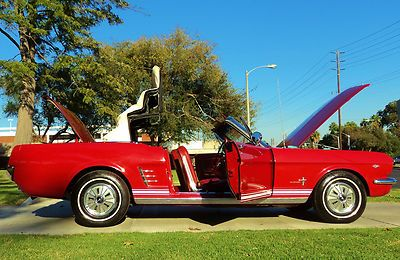66 mustang gt 289 hypo | 66 MUSTANG CONVERTIBLE SURVIVOR, 289 V8 POWER TOP! SEE VIDEO 64 66 67 ...