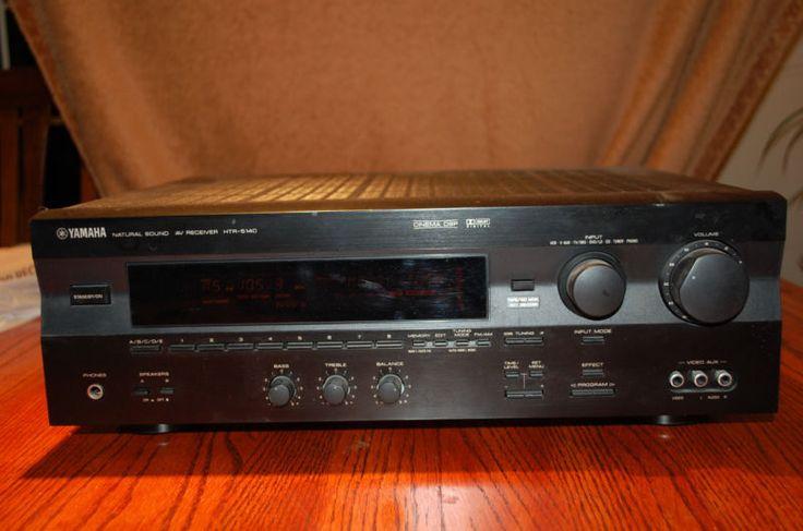 Yamaha Stereo Receiver HTR-5140 Dolby Digital - http://electronics.goshoppins.com/tv-video-home-audio/yamaha-stereo-receiver-htr-5140-dolby-digital/