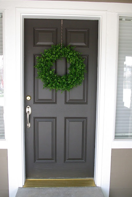 DIY wreath from the Wire Basket. Love it!