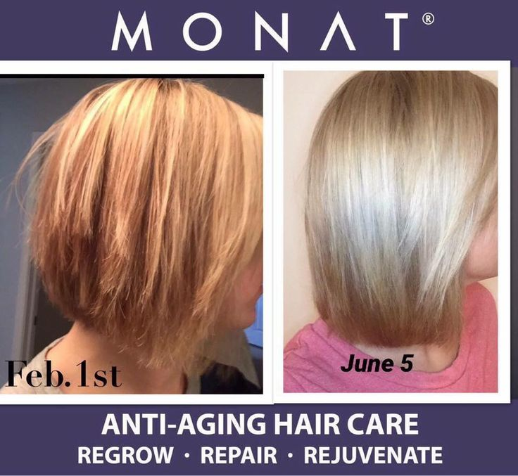 "Hairstylists are in love and amazed with Monat! Christys review ... ""The first pic was taken on Feb. 1st using profession salon products, blow dried with a brush -before flat ironing. (I wouldn't leave the house without at least flat ironing my hair) The second picture was taken yesterday, after four months of exclusively using Monat anti-aging haircare. Blowdried with a brush, no flat iron used in this photo--www.jaxpotia.mymonat.com"