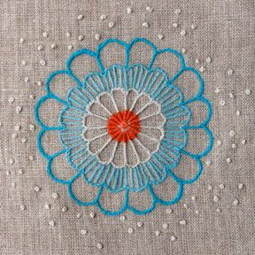 Katherine Shaughnessy contemporary embroidery. http://www.welovefrenchknots.com/2012/12/stitcher-profile-katherine-shaughnessy-from-wool-and-hoop.html