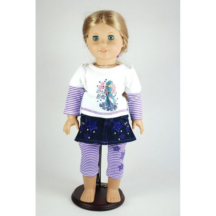 Rock Star Outfit for 46cm Dolls Including the American Girl Line. Brand New | eBay
