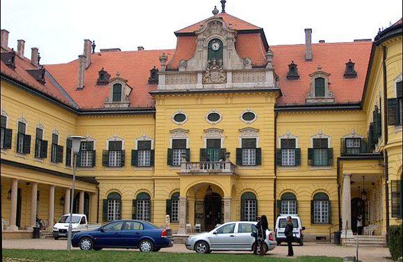 Kastély Alföldön. Tervezte: Ybl Miklós. Hungary