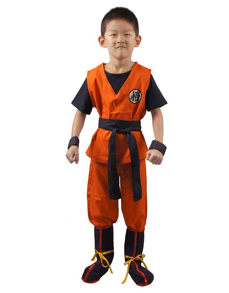 little goku halloween costume outfit dbz