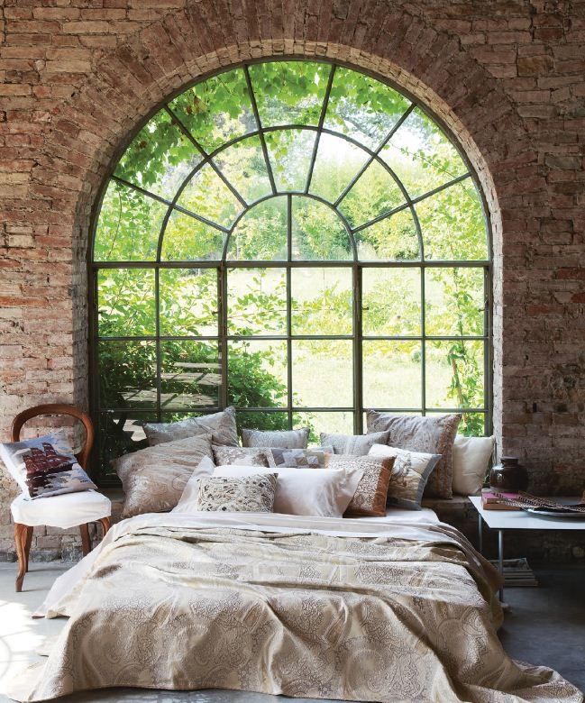 A room with a view. I would live outside if I could