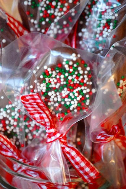 Chocolate Dipped Spoons ~ Dip these spoons into any hot beverage…