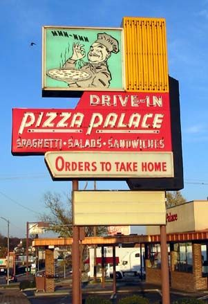 Pizza Palace, Knoxville, TN ---- Our First DDD experience!