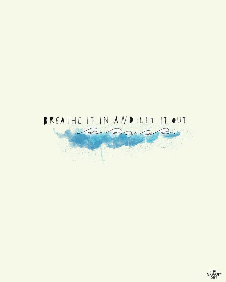 Let it Out//via thatgregorygirl.tumblr.com