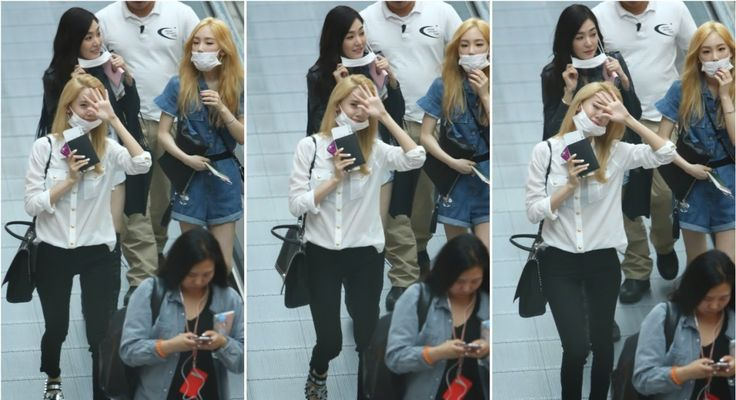 SNSD's Airport Fashion going to Thailand