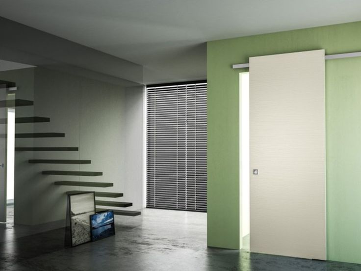 Download the catalogue and request prices of Minimal soft by Pivato, pine sliding door without frame, Scorrevoli Special collection