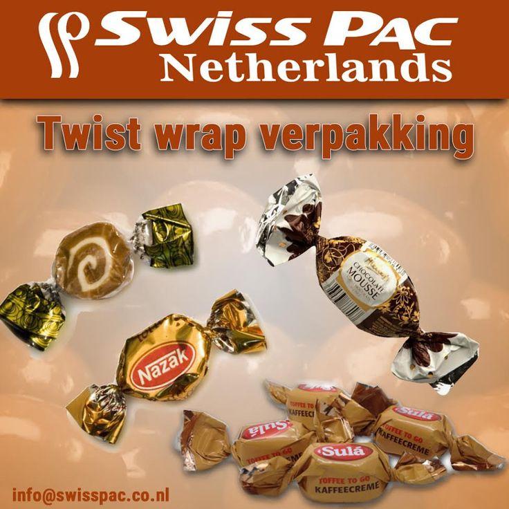 Onze reep #verpakking is ideaal voor hitte gevoelige producten als cakejes en #chocolade, maar ook medicijnen zijn hiervoor geschikt. Wilt u meer informatie, neem een kijkje op onze website http://www.swisspac.co.nl/twist-wrap-verpakking/