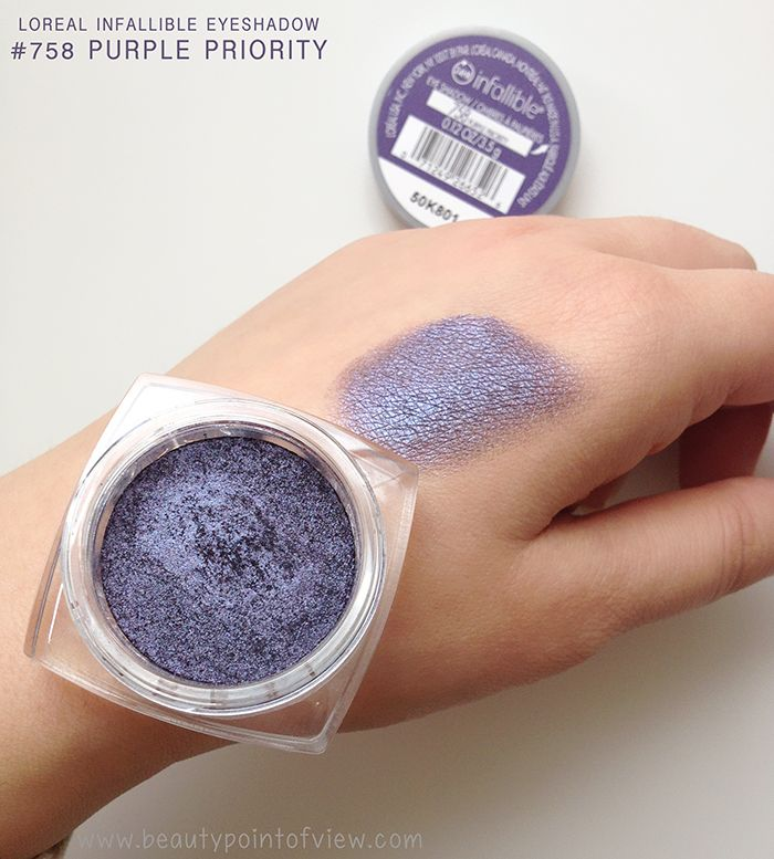 Hi beauties! I wasn't planning on doing a post today but then I got this stunning Loreal Infallible Eyeshadow in Purple Priority and I had to pop in and share it with you guys. Honestly, I've been a huge fan of the Infallible eyeshadow line since they were released and they keep rolling them out …