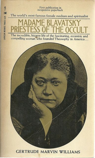 """Madame Blavatsky Priestess of the Occult. The terms """"Left hand path & Right hand path"""" was brought from the east to the west by Blavatsky."""