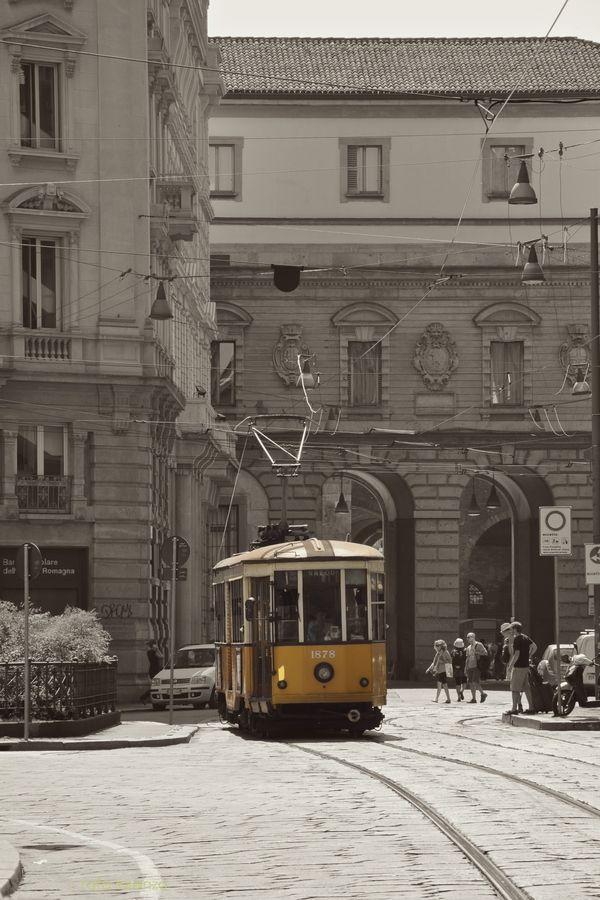 Milano - Tram 1878 by Rafa Lorenzo on 500px