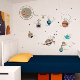 We'd recommend this for the children's room but it's such a wonderful present for any science-lover!