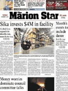 marion star is our local hometown newspaper,  rather read it online for free than to subscribe to it.