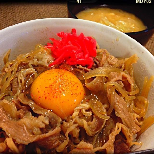 仕事にいってきまっす! - 129件のもぐもぐ - 牛丼!!! by tekko814