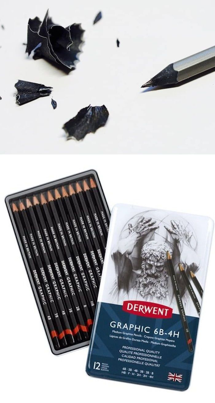 Learn how to select the best drawing pencils
