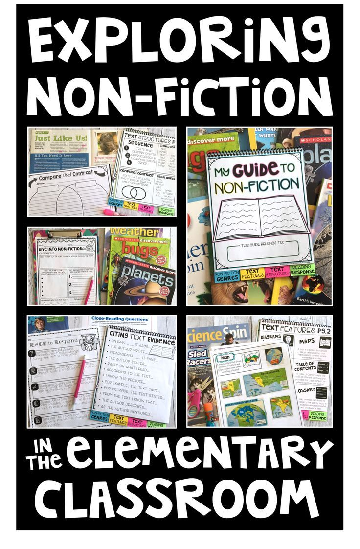 Ideas For Exploring Nonfiction In The Elementary Classroom
