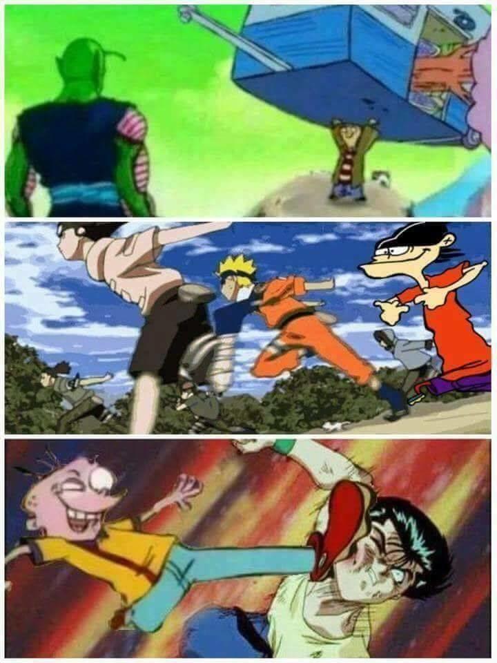 Ed Edd N Eddy Is Best Anime Ever Funny Christian Memes Ed Edd N