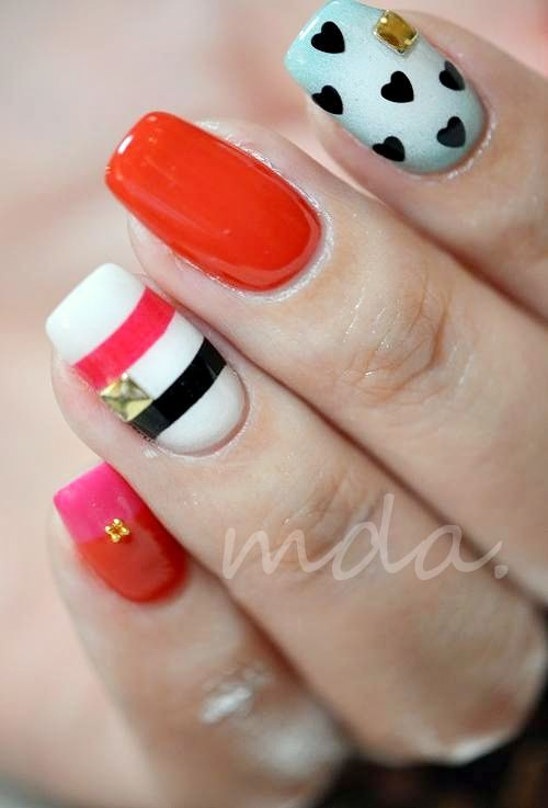 Trendy Nail Colors: 1620 Best Images About NAILS On Pinterest
