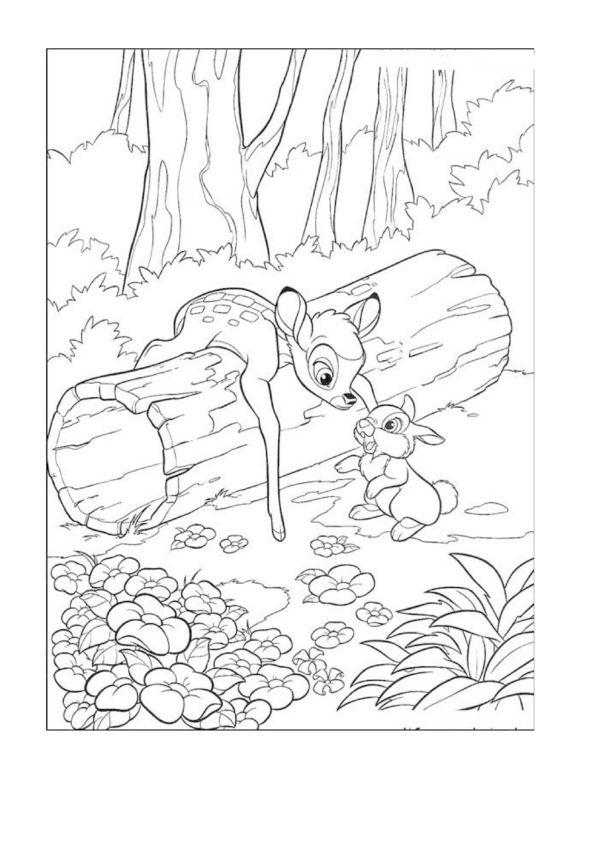 Disney 63 Ausmalbilder für Kinder. Malvorlagen zum ...