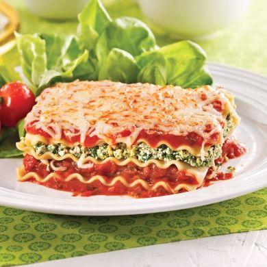 Lasagne végé aux épinards - Recettes - Cuisine et nutrition - Pratico Pratique