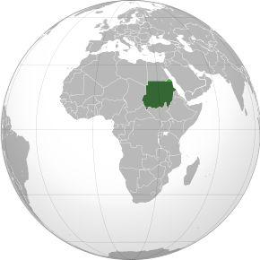Amplasarea Sudan