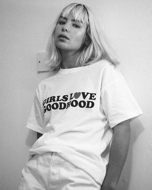 @jessicaannewoodley rocking the @goodhood ☁️ Photo: @james_re