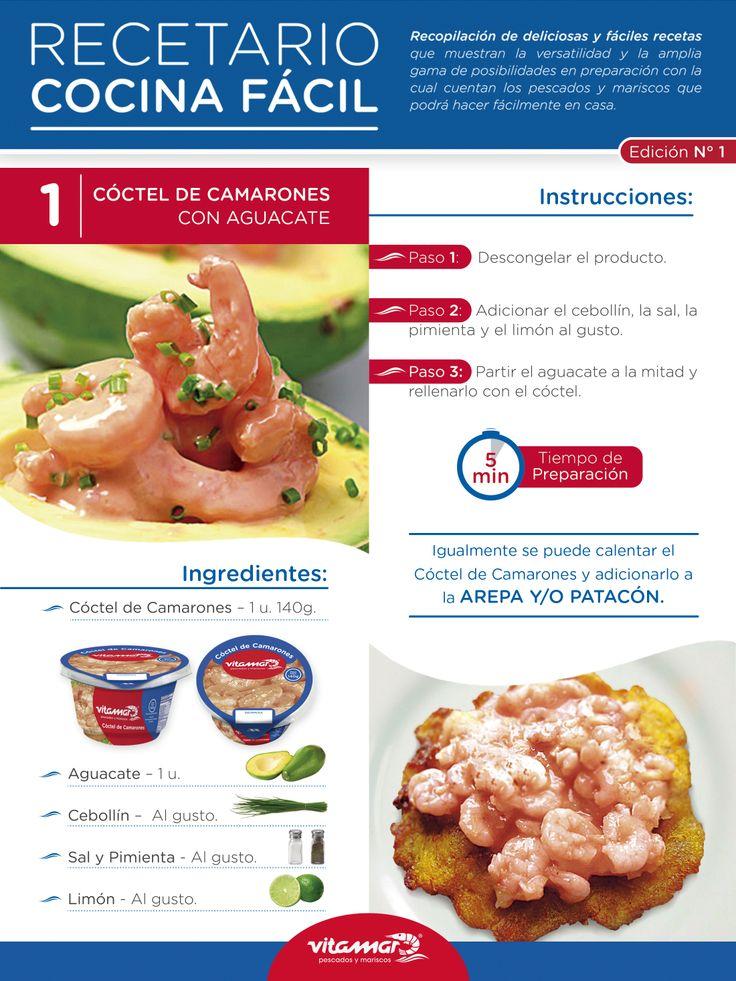 Cóctel de camarones con aguacate > http://vitamar.com.co/product/cctel-de-camarones/