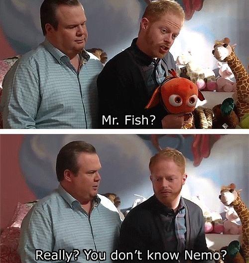 Modern Family. Nemo, really???